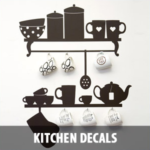 kitchen decals Wall Decals