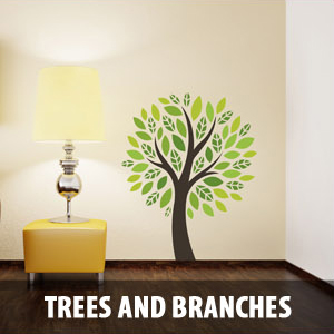 trees branches Wall Decals
