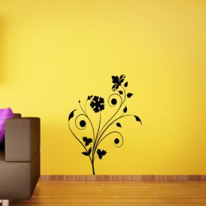 ABSTRACTFLORAL-on-wall