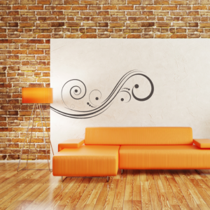 Abstract-wall-decor-on-wall
