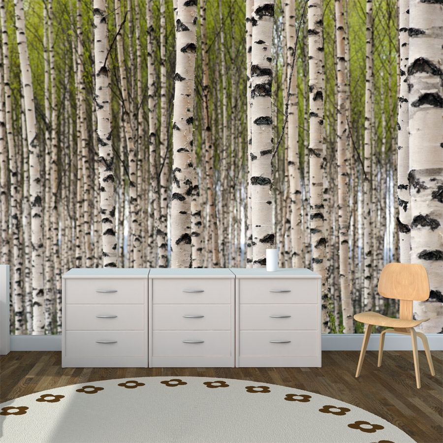 forest wall mural removable wall stickers and wall decals