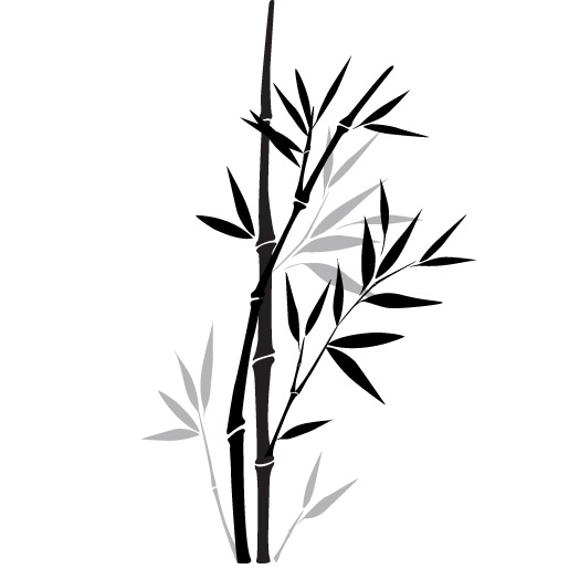 bamboo decal sticker