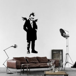 Banksy Punk Angel