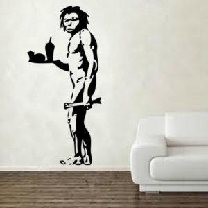 Banksy Take Out Wall sticker