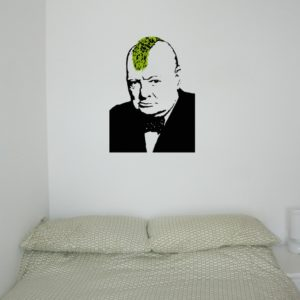 churchill punk banksy