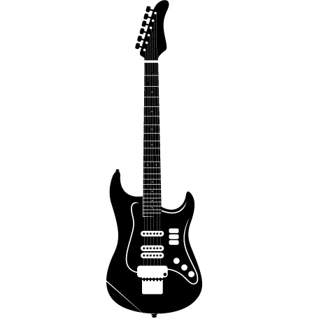 Guitar Wall Sticker Removable Wall Stickers And Wall Decals