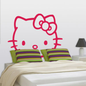 Hello Kitty wall sticker