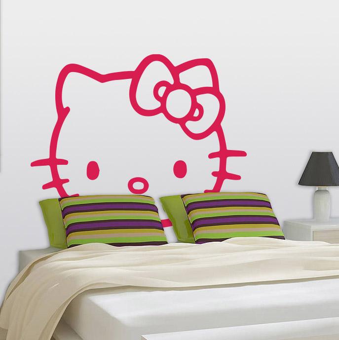 pics photos hello kitty wall sticker