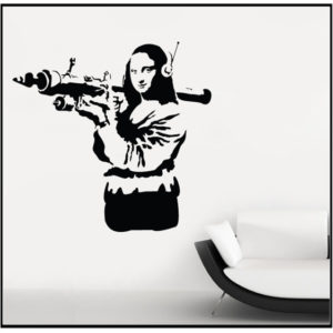 Banksy Arms Dealer Mona Lisa