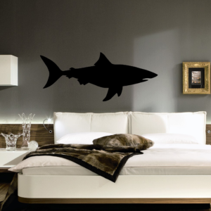 shark wall sticker
