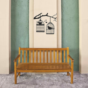 birdcages wall stickers