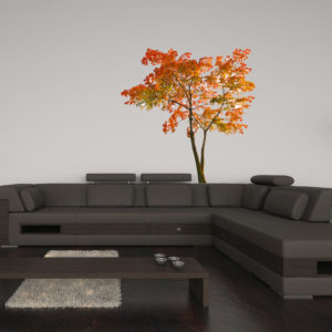 autumnal tree wall sticker
