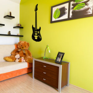 guitar wall stickers