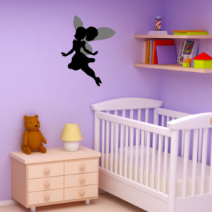 Fairy silhouette wall sticker