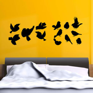 Flock of Birds Wall Sticker