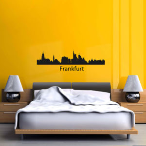 Frankfurt wall decal