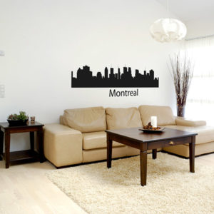 Montreal wall decal