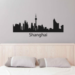 Shanghai wall sticker