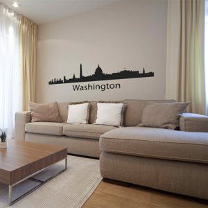 Washington Skyline Wall sticker