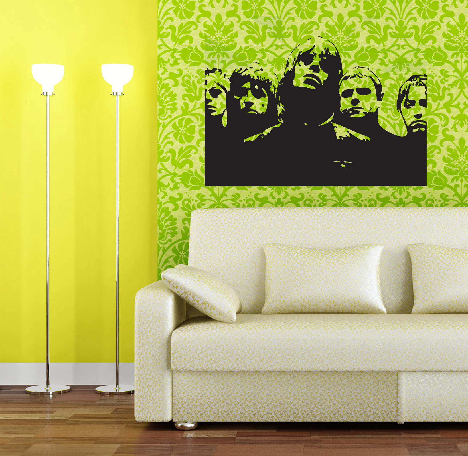 Urban and street art wall stickers and decals