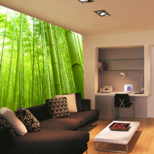 bamboo forest vinyl decal
