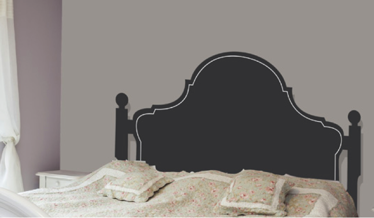 Headboard Wall Decals No Headboard? Try One of These Great Decals