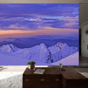 Mountain Ranges wall mural