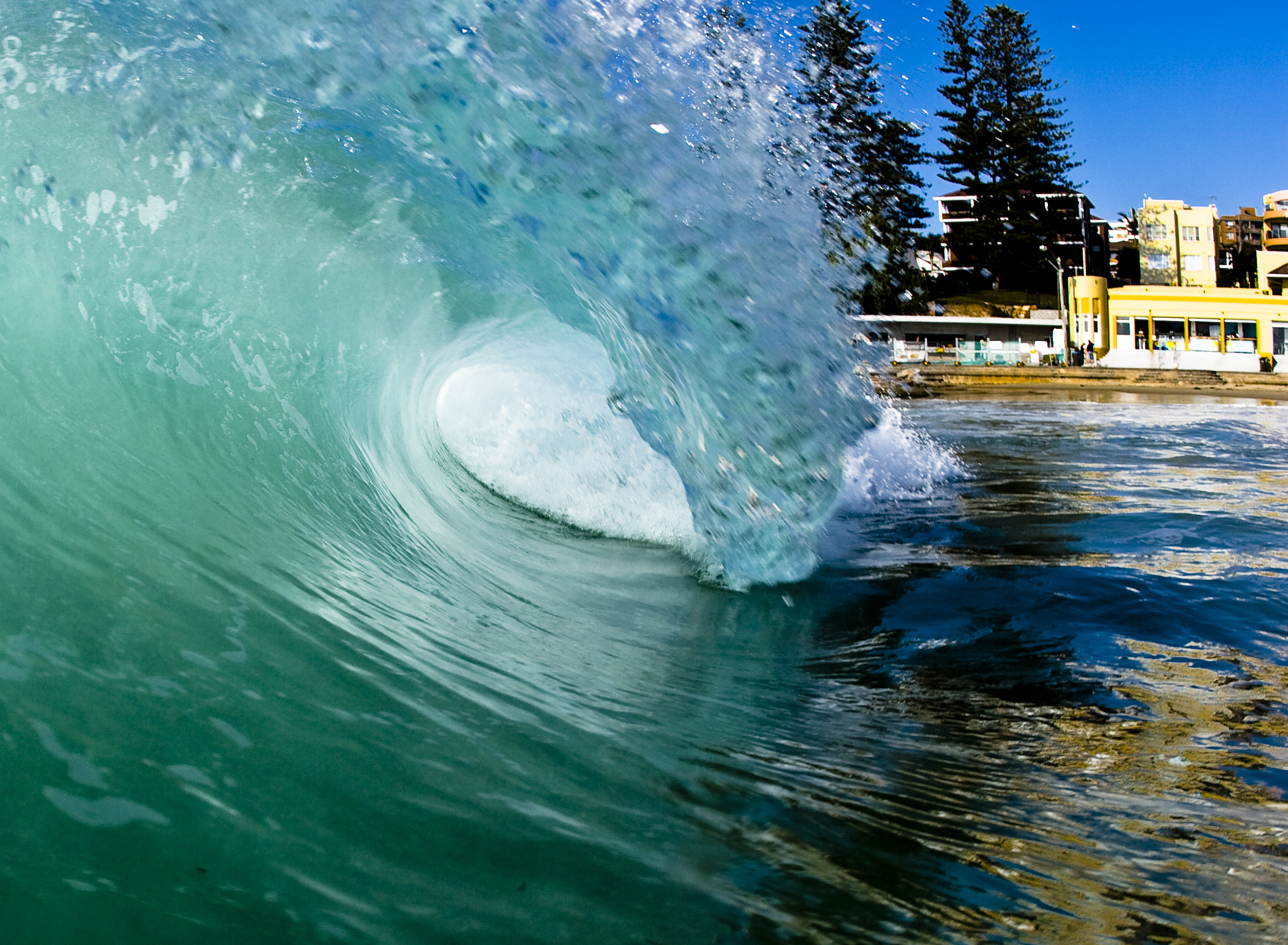 wave vinyl wall decal