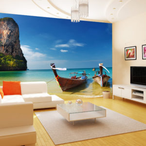 Paradise on Earth Wall Decal