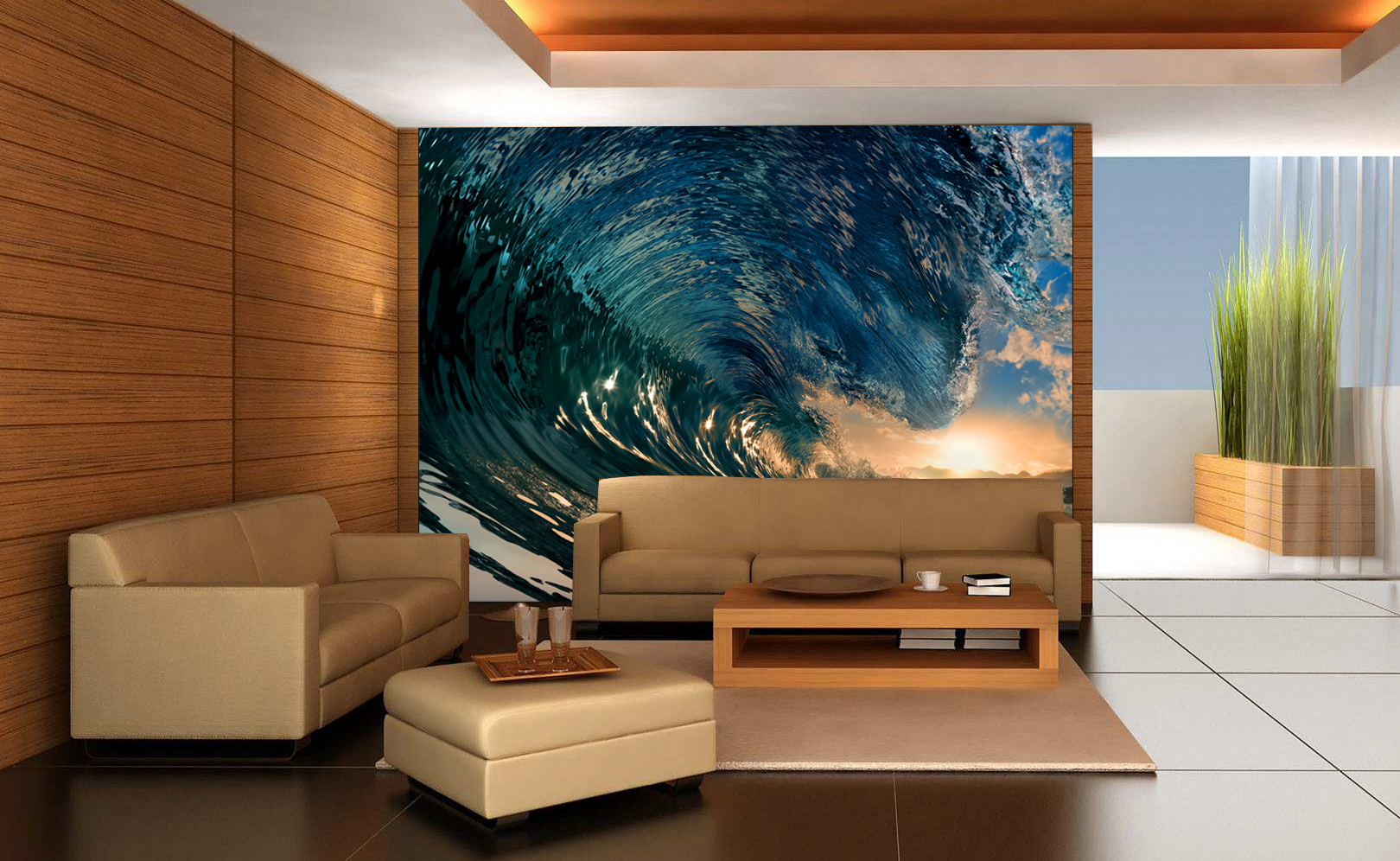 the sea crystal waves surf wall mural crystal waves surf wall mural