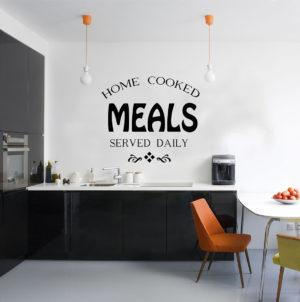 kitchen wall art decal