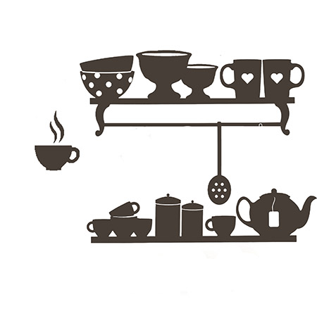 kitchen decal small