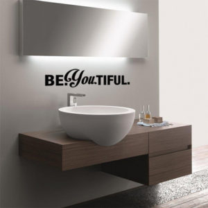 beyoutiful wall quote